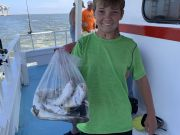 Miss Oregon Inlet Head Boat Fishing, GREY TROUT FOR THE WIN
