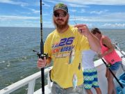 Miss Oregon Inlet Head Boat Fishing, Captain Tripp with 100 trips