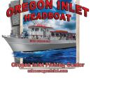 Miss Oregon Inlet Headboat, End of May On It's Way